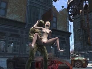 Fallout 4 katsu 123 and 4 cocks - 3 part 2