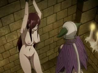 Fairy Tail Hentai - Erza Scarlett Full Nude scene