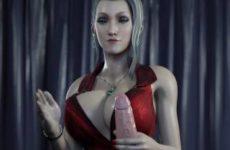 Scarlett Branlette, la star de Final Fantasy 7 Remake hentai